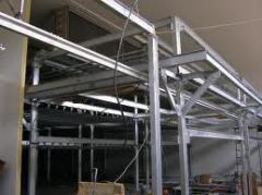 Metalwork: Columns, farms, beams, Metalwork