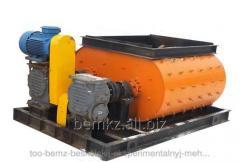 Двухвальный бетоносмеситель БСП-1300