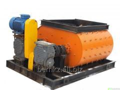 Двухвальный бетоносмеситель БСП-750