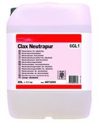 Жидкий нейтрализатор моющего средства Clax Neutrapur 6GL1 20lt, 21.7 kg