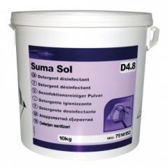 Дезинфицирующий чистящий порошок SUMA SOL D 4.8 (10kg)