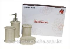 Set of bathing accessory Luxury 4 subjects