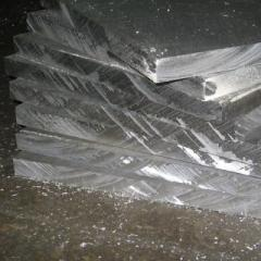 Plate of aluminum 11 - 200 mm Amg3 of D16 of GOST