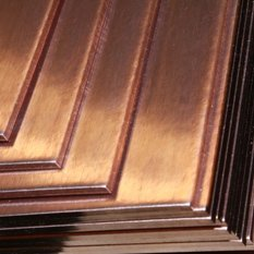 Plate of copper 25 - 150 mm of M1 M1r M1f of Sq.m