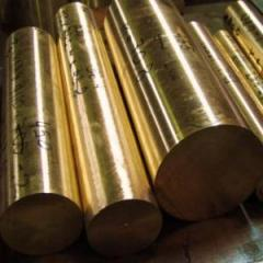 Bar of bronze 5 - 200 mm of Bramts9-2 BrAZh9-4