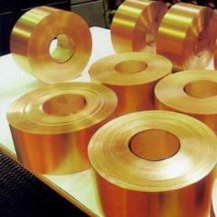Tape of brass 0,05 - 25 mm L63