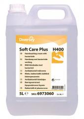 Жидкое мыло с дезинфектантом Diversey - Soft Care LEVER PLUS H400 5.2 KG