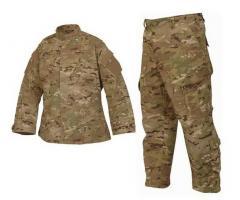 Les vêtements la militaire formelle