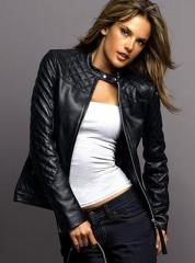 Leather jacke