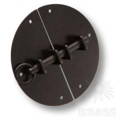 Засов на сундук, цвет - черный 5201-66