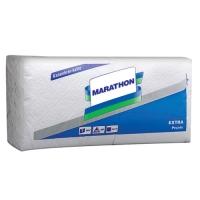 Desktop napkins of Extra Marathon (24х24) white