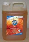 Means for cleaning of wood surfaces of Pronto Wood