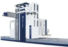 The milling processing Series F center SORALUCE