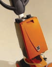 The foamer for dry foamy cleaning of carpets of