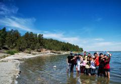 Детский лагерь в Зеренде