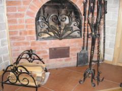 Решетки каминные с сеткой