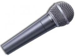 The microphone is dynamic