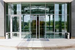 Entrance groups of aluminum