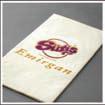 Салфетки двухслойные с фирменным логотипом клиента