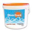 Нестабилизированное дезинфицирующее средство для воды бассейна Divergard CaHypo Tabs артикул 70021071