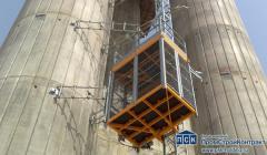 Лифт строительный грузопассажирский Electroelsa