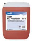 Foam alkaline means for removal of HD Plusfoam VF1