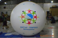 Aerostat with a diameter of 2 m
