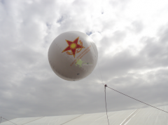 Aerostat of 1,5 m for the Kadex 2012 exhibition