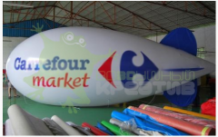 The balloon for registration of an exhibition,
