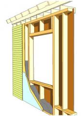 Houses are frame and panel board