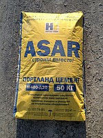 ASAR cement of 50 kg of PTs M400