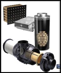 Продукция Parker Racor для фильтрации воздуха и картерных газов