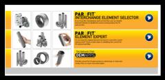 Program of selection of Parker PAR-FIT filters