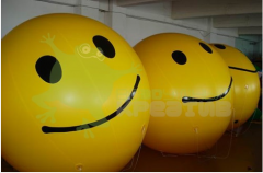Balloon for promo – actions the sphere - a smilie,