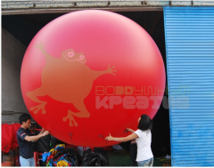 The inflatable design a sphere, diameter is 2