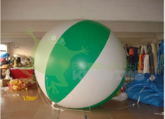 The balloon, diameter is 3 m