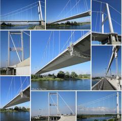 The bridge through the Irtysh River Semey