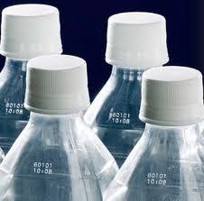 Bottles from plastic