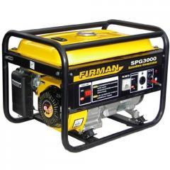 Бензиновый генератор SPG3000, 2,8 кВт (ручной