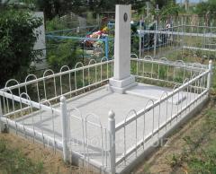 Gravestones marble