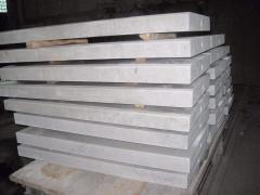Window sills, steps also appear from marble from