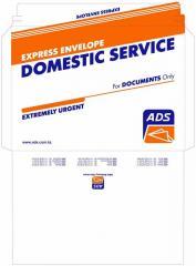 Envelopes. The press and design of envelopes,
