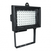 LED searchlight of L0101M 60X0,06W LED 220V BLACK