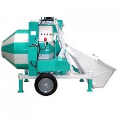 Concrete mixer of SBR-1200A (Diesel)