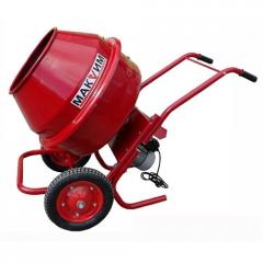 The concrete mixer about the motor reducer B 130 P
