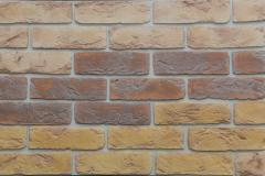 Artificial decorative stone (stone wall-paper) for