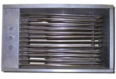 Electroheaters are channel, rectangular