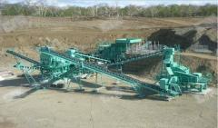 Crushing and sorting complex