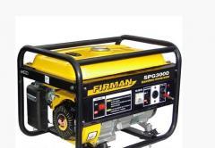 Бензиновый генератор SPG3000, 2,8 кВт ручной старт
