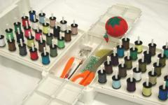 Accessories for seamers, spare parts and devices